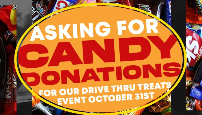 candy donations ad
